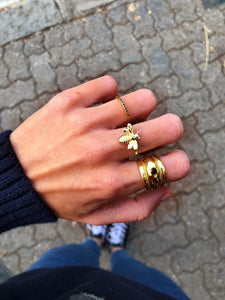 ANILLO BEE GOLD