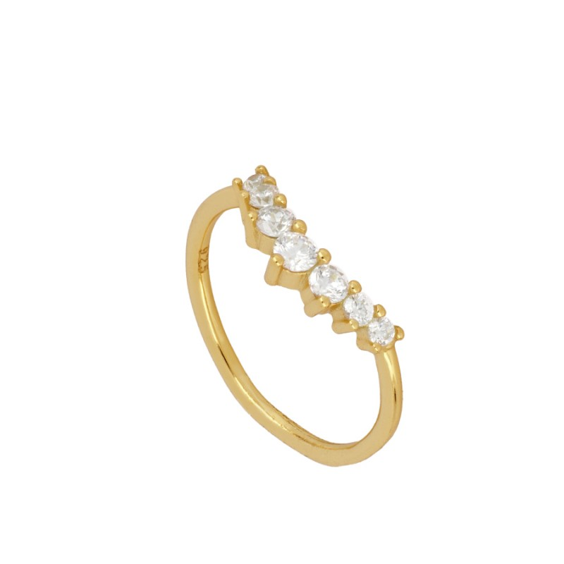 ANILLO SHINE VINTAGE GOLD