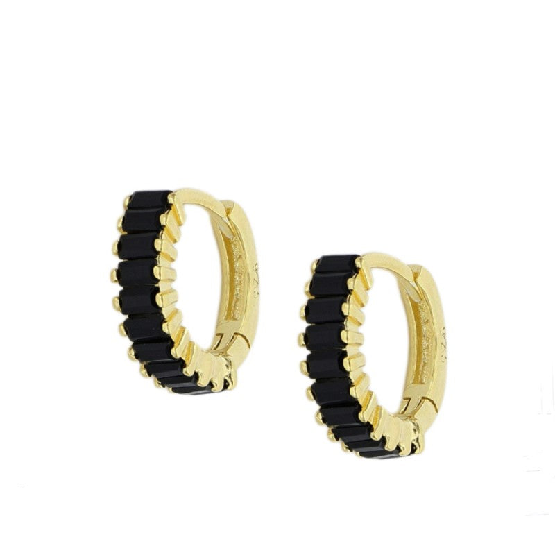 PENDIENTES MINI ARITOS BLACK