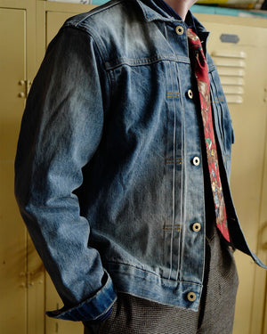 Wash Denim Jacket