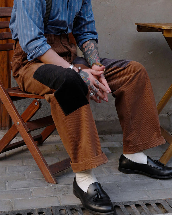 French Cotton Corduroy Trousers