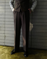 Ambassador-Series Three-pieces-Suits Trousers-Brown