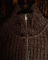 WW II British Navy Half Zip Jumper