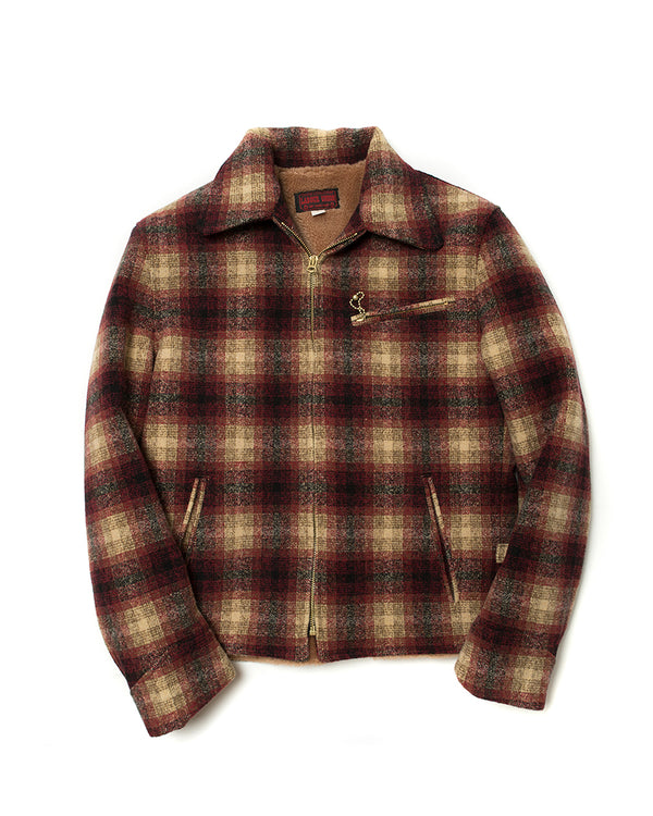 LabourUnion-handmade-clothing-american-retro-vintage-style-menswear-1930s-style-Burgundy-Full-Plaid-Sports-Jacket-Hero