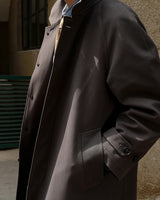 LabourUnion-handmade-clothing-american-retro-vintage-style-menswear-Charcoal-Overcoat