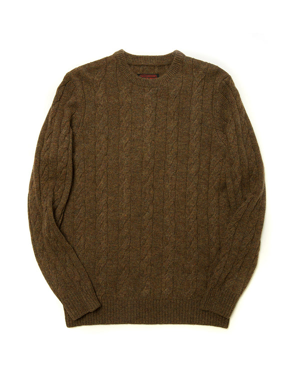 LabourUnion-handmade-clothing-american-retro-vintage-style-menswear-Dark-Aran-Cable-Knit