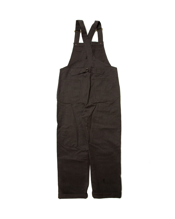 LabourUnion-handmade-clothing-american-retro-vintage-style-menswear-1930s-1940s-1950s-workwear-Charcoal-Dungarees