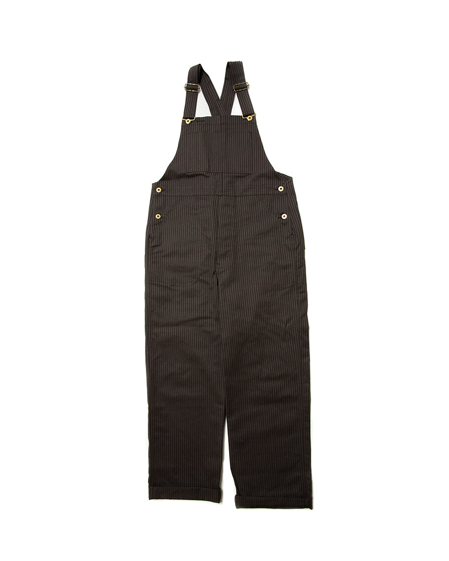 LabourUnion-handmade-clothing-american-retro-vintage-style-menswear-bottoms-1930s-1940s-1950s-workwear-Charcoal-Dungarees