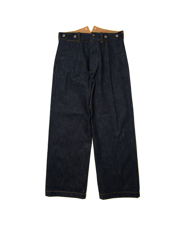LabourUnion-handmade-clothing-american-retro-vintage-style-menswear-bottoms-1930s-fishtail-jeans
