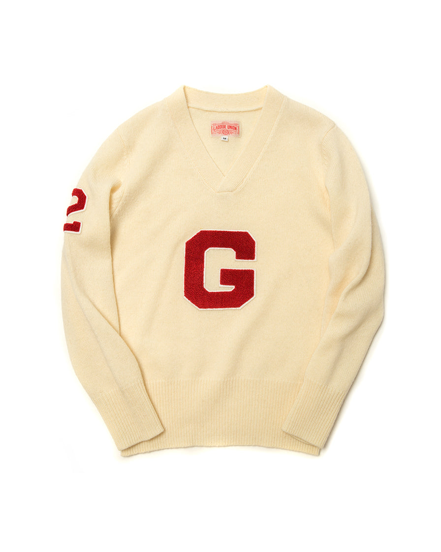 LabourUnion-handmade-clothing-american-retro-vintage-style-menswear-knitwear-Ivy League-G-Jumper