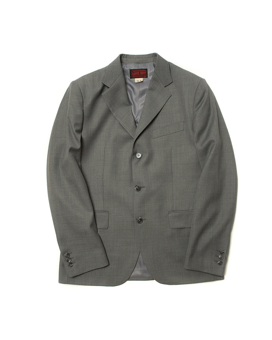 LabourUnion-handmade-clothing-american-retro-vintage-style-menswear-suit-outwear-Grey-Three-Button