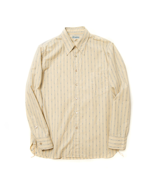 Cream Jacquard Shirt