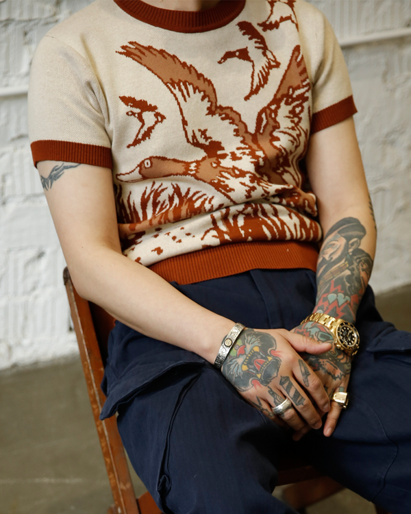 Labourunion-clothing-handemade-american-retro-vintage-style-menswear-tops-LU136_Duck_Season_Summer_Knit_Shirt