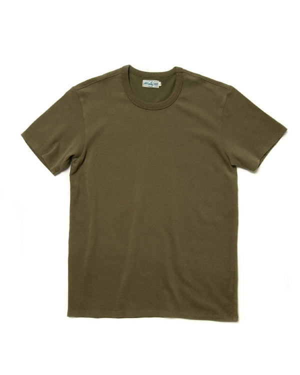 LabourUnion-clothing-american-retro-Solid-Color-Cotton-olive