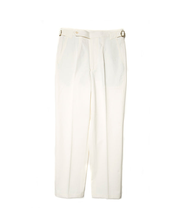 Off White Single Pleat Trousers