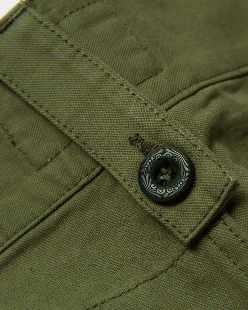 LabourUnion-clothing-american-retro-vintage-handmade-1940s-1960s-British-Army-Double-Buckle-Gurkha-Trousers-green-buckle