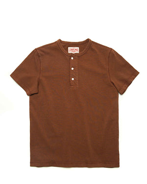 LabourUnion-clothing-american-retro-vintage-handmade-henley-tee-brown