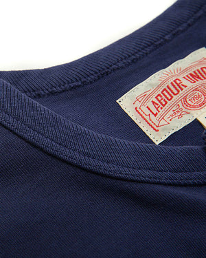 LabourUnion-clothing-american-retro-vintage-handmade-henley-tee-navy-neckline
