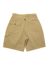 LabourUnion-clothing-american-retro-vintage-handmade-menswear-shorts-British-Army-Double-Buckle -Gurkha-Shorts-khaki-back