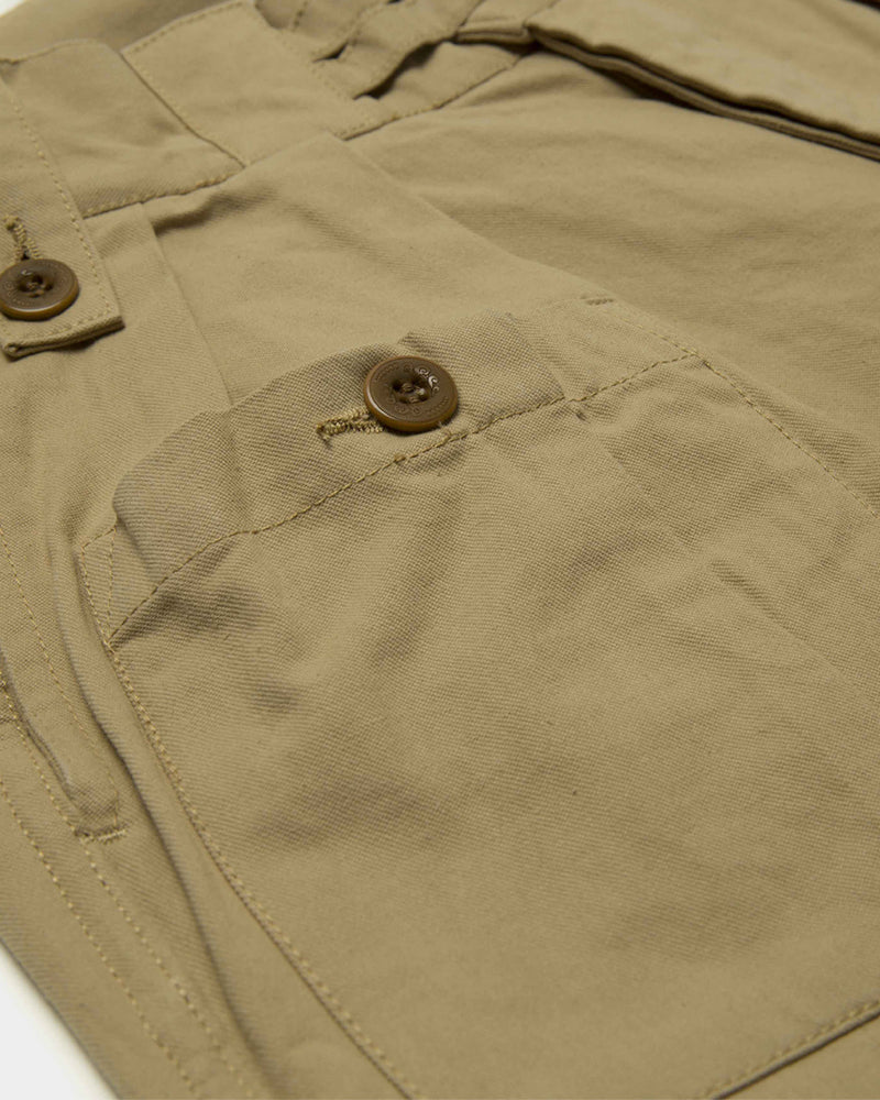 LabourUnion-clothing-american-retro-vintage-handmade-menswear-shorts-British-Army-Double-Buckle-Gurkha-Shorts-khaki-sidepocket