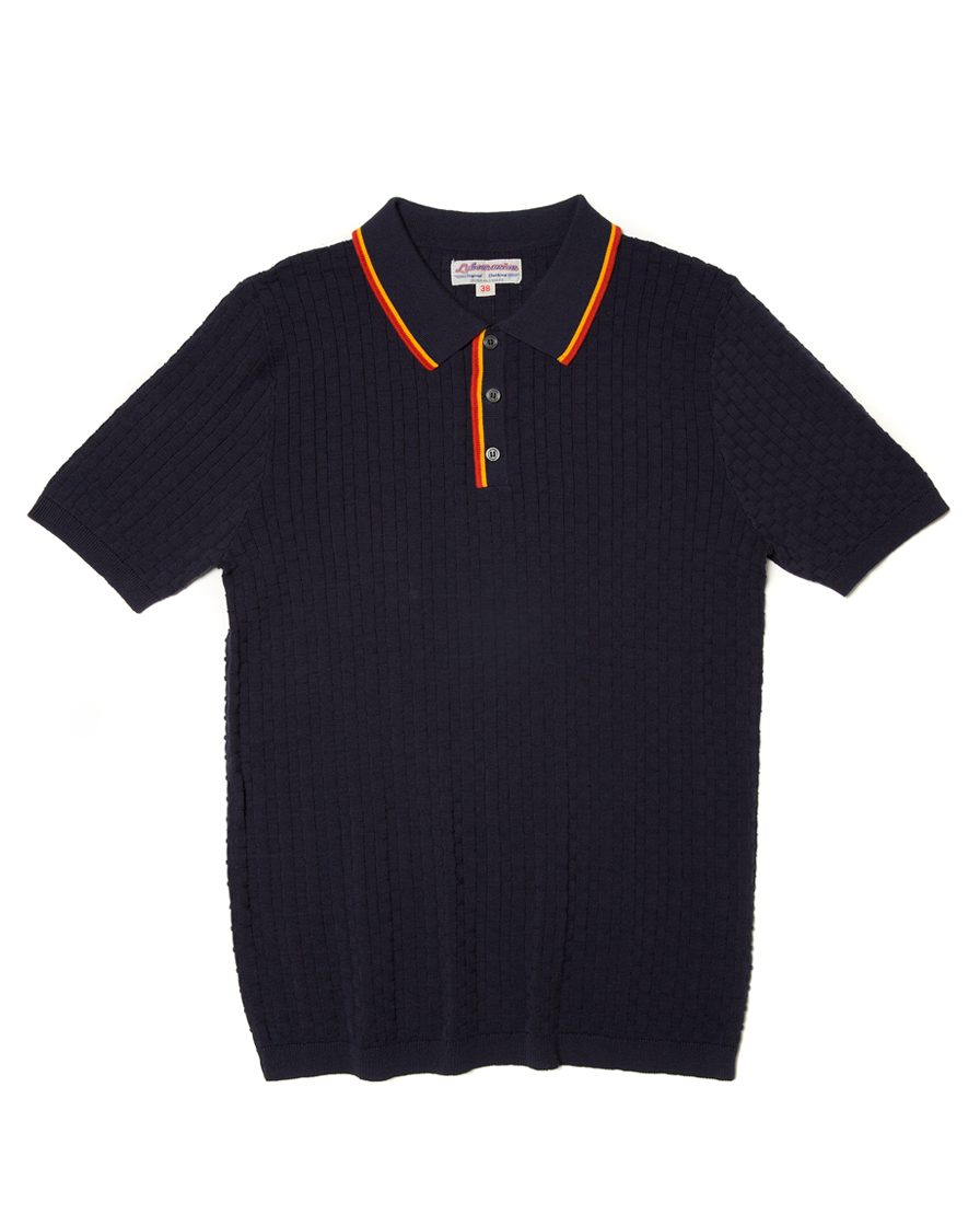 Labourunion-clothing-handemade-american-retro-vintage-style-menswear-tops-LU146_Jacquard__Color_Stripe_Collar_Polo_Shirt (1)