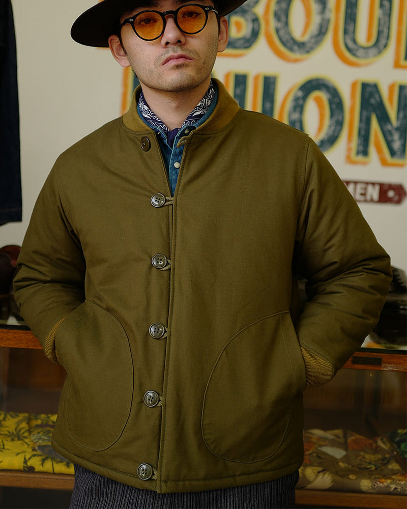 M43 Liner Jacket Quilted Duck Cotton