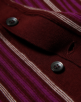 Labourunion-clothing-handemade-american-retro-vintage-style-menswear-tops-LU139_Purple_Strip_knit_Shirt