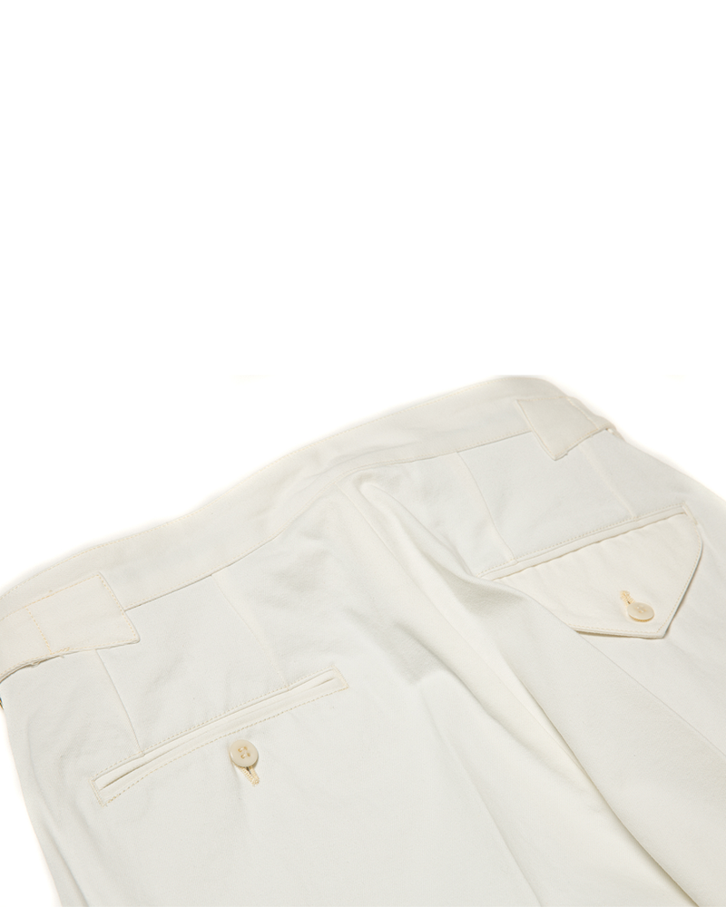 Labourunion-clothing-handemade-american-retro-vintage-style-menswear-tops-LU165_Off-White_Single_pleat_Trouser