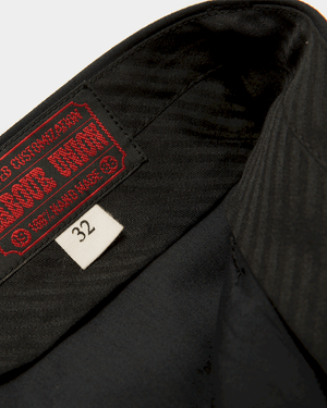Labourunion_clothing_handemade_american_retro_vintage_style_menswear_bottoms_Classic_California _conservative _slack_black