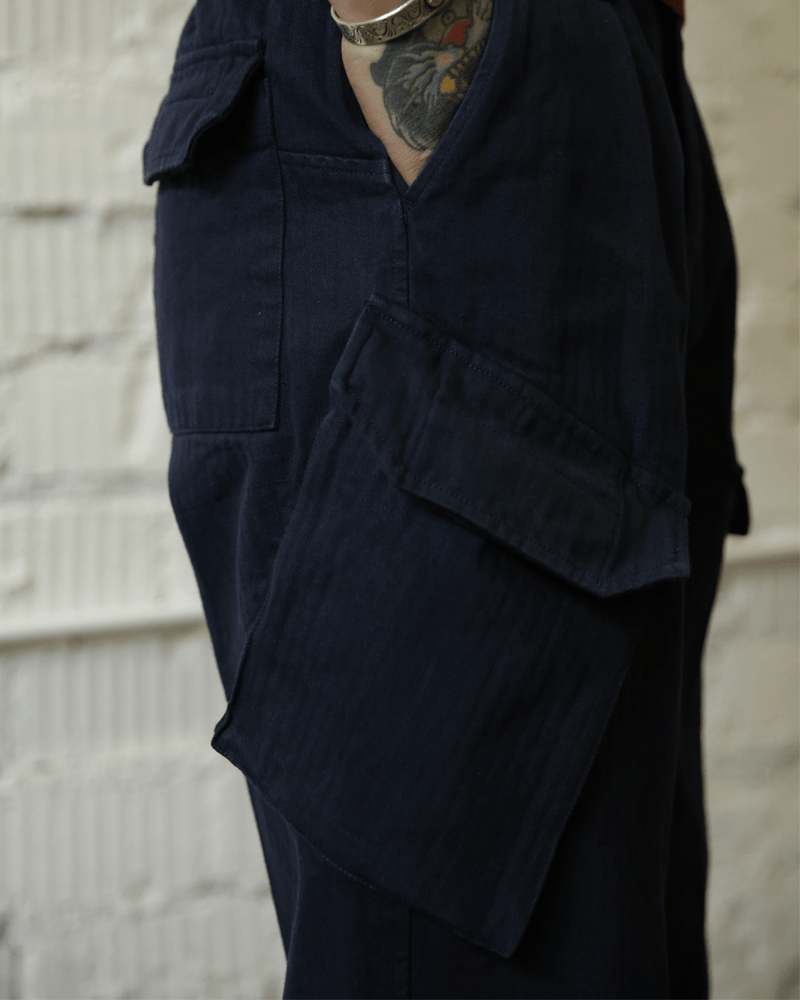 Labourunion_clothing_handemade_american_retro_vintage_style_menswear_tops_90s_British_Royal_Navy_Trousers
