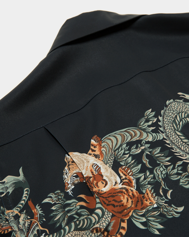 Labourunion_clothing_handemade_american_retro_vintage_style_menswear_tops_Entrenched_DragonTiger_Ukiyo-e_BLK_Aloha_Shirt