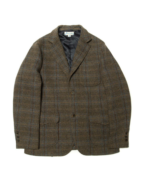 Tartan Shooting Blazer Grey