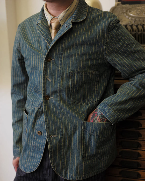 Washed Wabash Tailored Jacket
