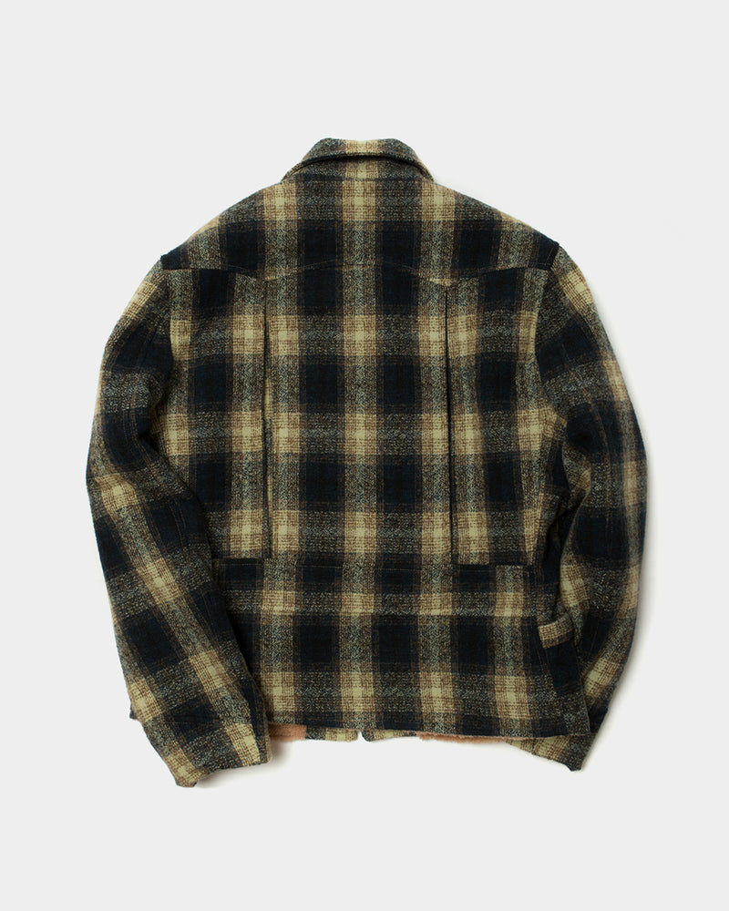 Mustard Plaid Sports Jacket