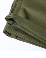 Labourunion-clothing-handemade-american-retro-vintage-style-menswear-bottoms-P44S_Army_Back_Pockets_Olive_Shorts