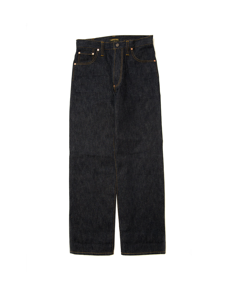 Blue-Collar Workwear Denim Jeans