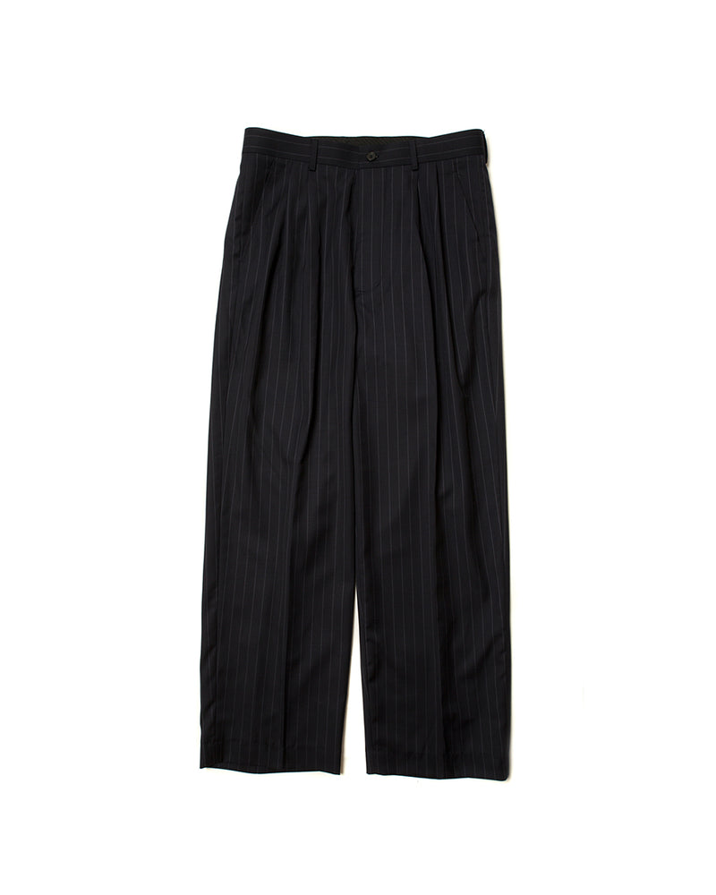 Wide Stripe Trousers