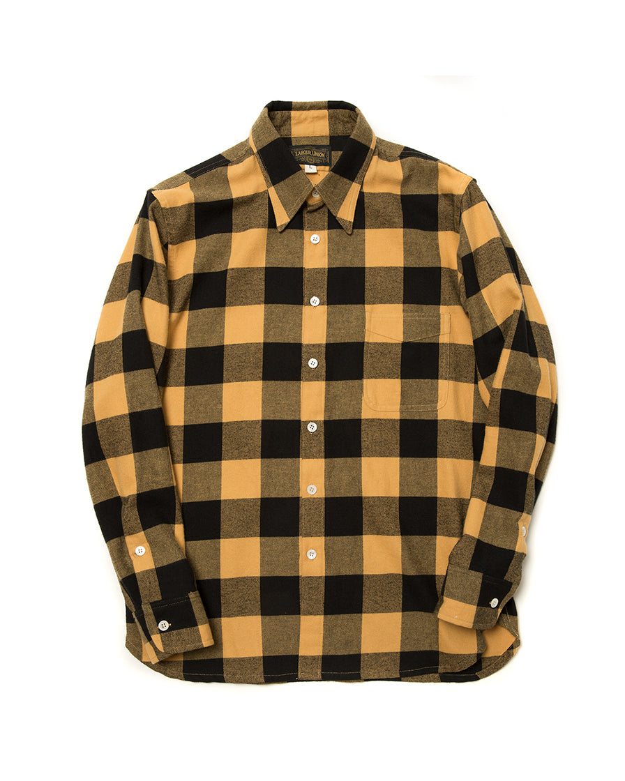 Yellow Plaid Shirt