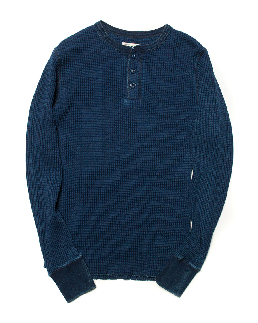 labourunion-clothing-american-reteo-vintage-style-top-indigo-waffle-henley