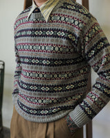 Fair Isle Jumper Grey