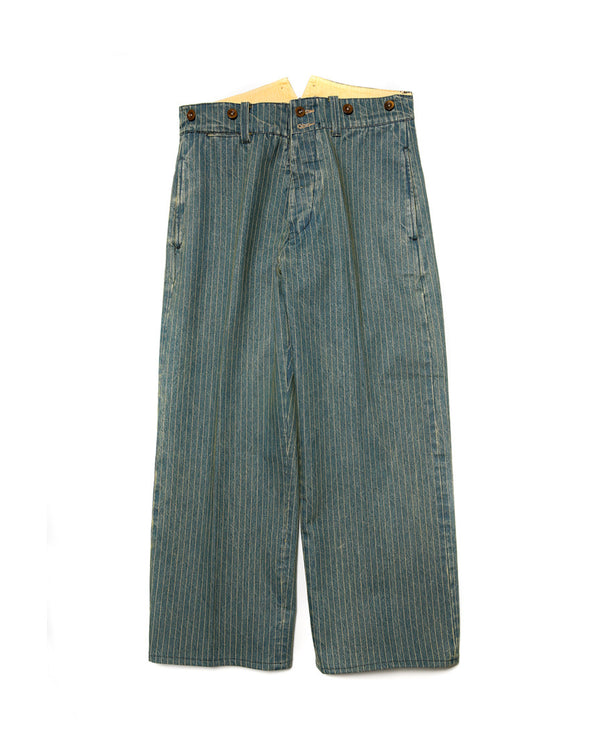 Washed Wabash Denim Trouser