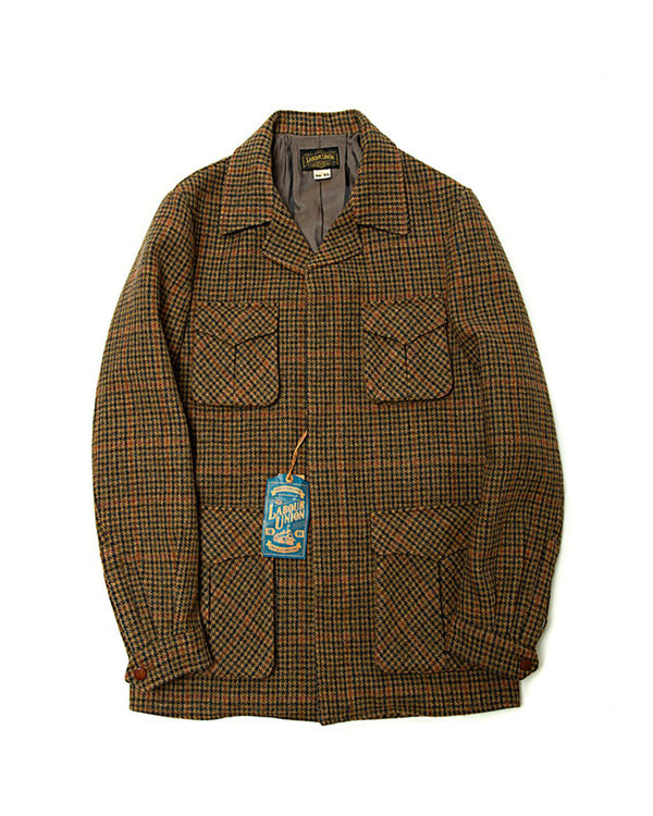 Safari Jacket - Houndstooth