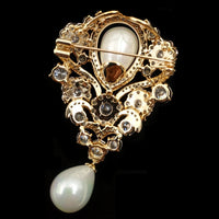 Gold Brooch Wedding