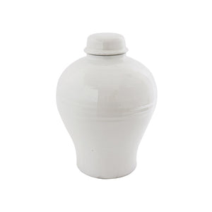 Load image into Gallery viewer, Classic White Ginger Jar