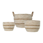 French Nesting Baskets (Set of 3)