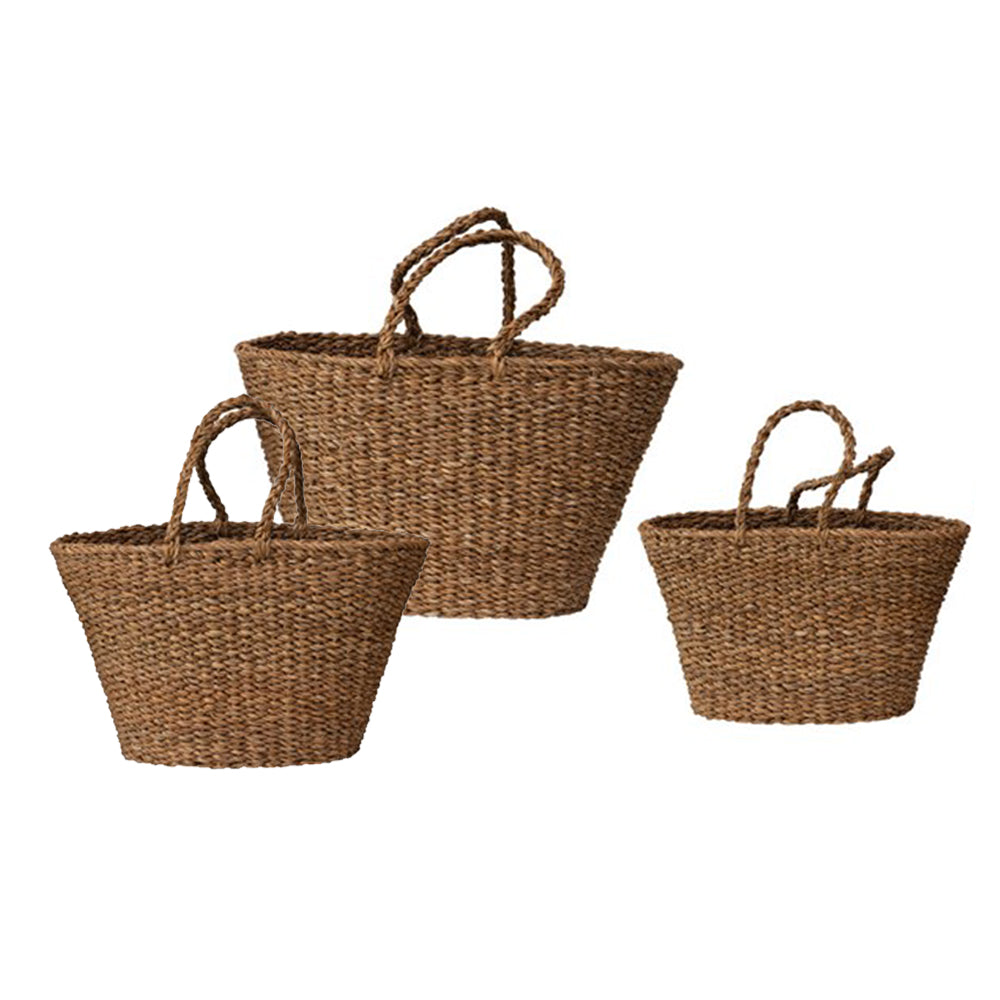 French Market Totes (Set of 3)