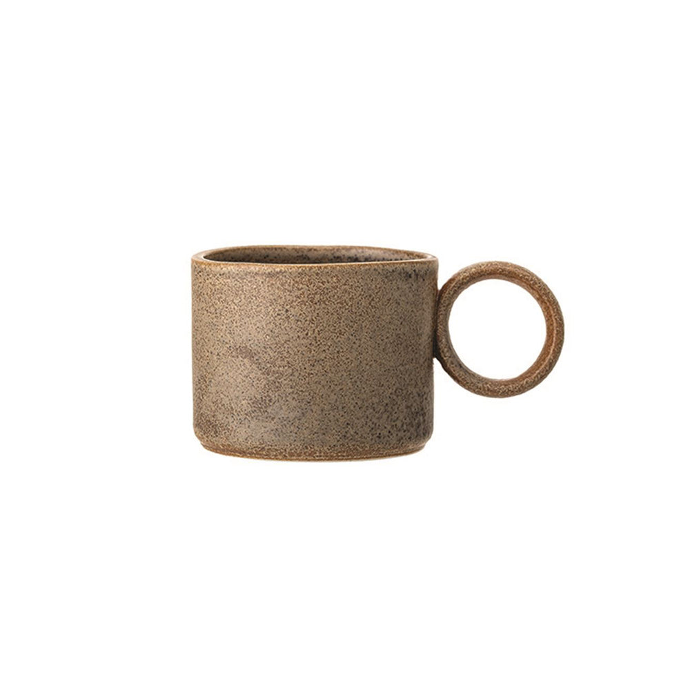 Load image into Gallery viewer, Glazed Stoneware Coffee Cup