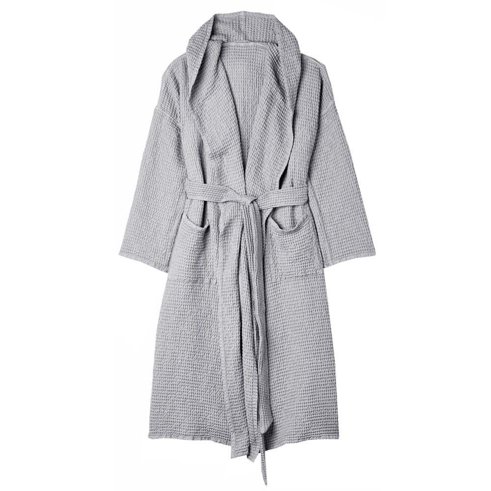 Load image into Gallery viewer, Waffle Linen Bath Robe