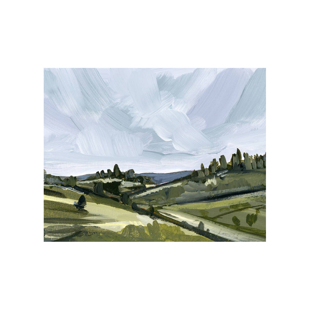 Load image into Gallery viewer, Italian Hills Canvas Print