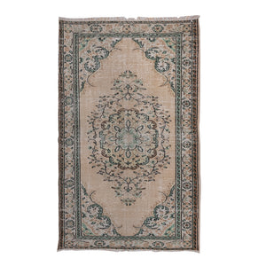 Load image into Gallery viewer, 'Jade' Vintage Rug (6 x 9)